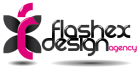 Flashex Design Creative Agency logo
