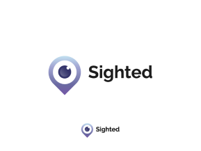 Sighted logo design