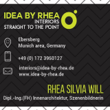 idea-by-rhea de - Innenarchitektur - und - Visualisierungen/Freihand u. 3D