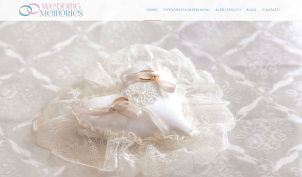 Wedding photographer website