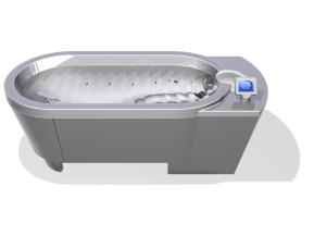 Hydrotherapy tub
