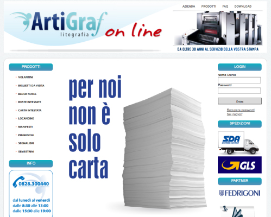 E commerce Stampa On-line