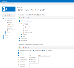 Navigation Tools for Sharepoint