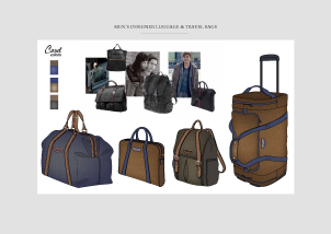 Men's designer Luggage e Travel bags