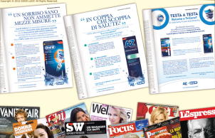 Advertorial AZ+OralB