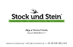 Stock und Stein - Assistenza segreteria freelancer Graz